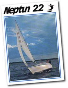 Verkaufsprospekt Neptun 22 - 1972