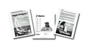 Werbeprospekt der Neptun Werft von 1977